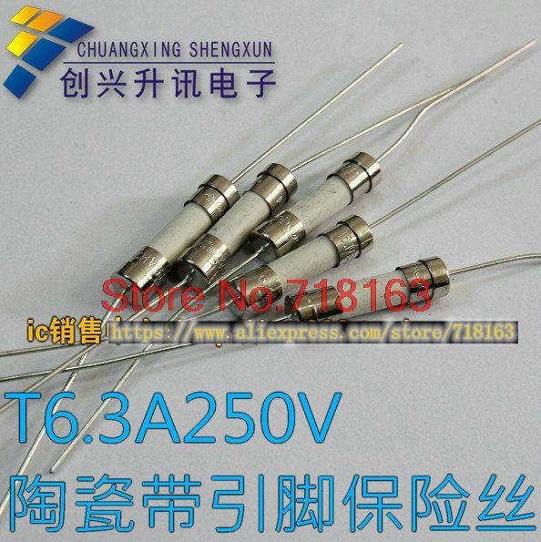 1pcs/lot T6.3A250V T6.3AH250V