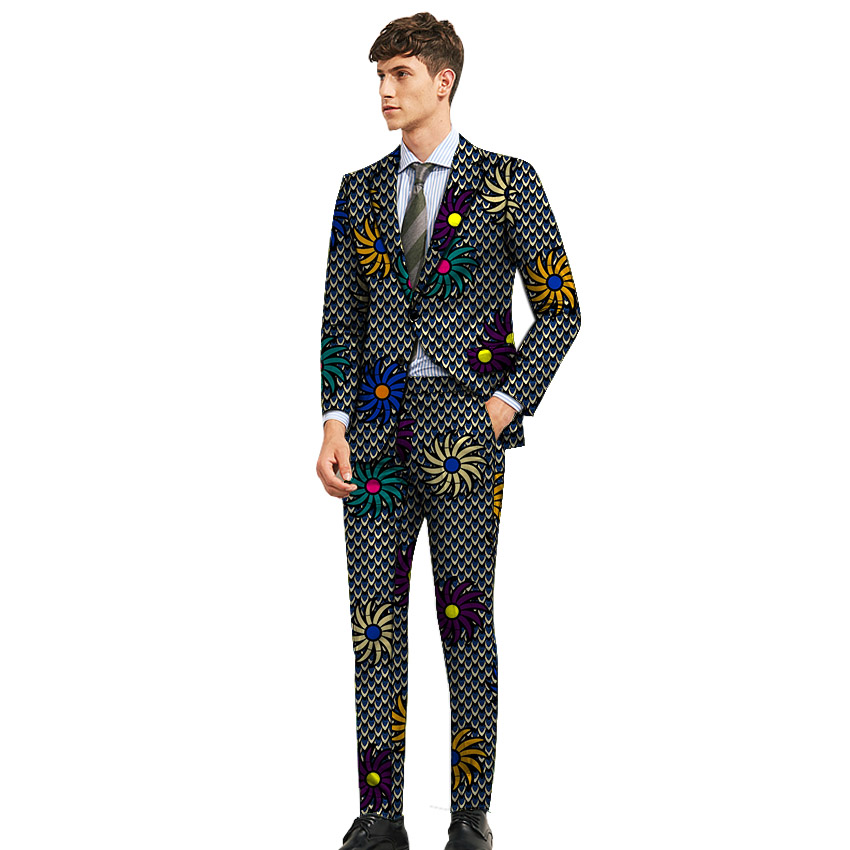 exclusive shoes info for superior materials US $54.84 16% OFF|New fashion African clothes men's suits dashiki man  printed pant suits for wedding nigerian formal traditional clothing-in  Suits ...
