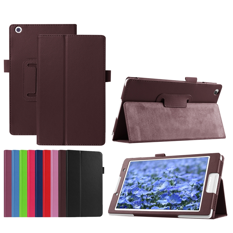 PU Leather Case Cover for Lenovo Tab3 8.0 TB3-850F TB3-850M 850F Tab2 A8-50F Tablet NOT for Lenovo Yoga Tab3 YT3-850F/850M/850L ultra thin smart pu leather cover case stand cover case for 2015 lenovo yoga tab 3 8 850f tablet free film free stylus