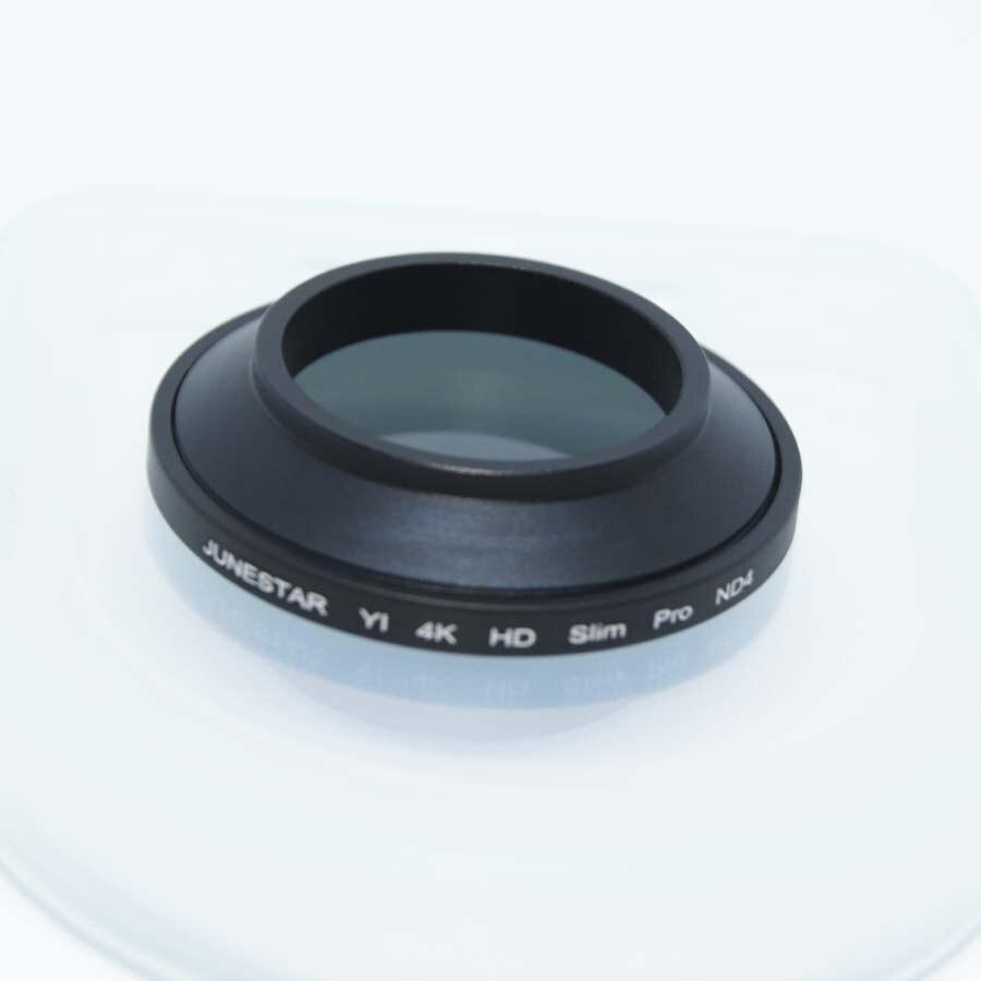 """34 מ""""מ שיאו mi יי השני 4 k פעולה מצלמה עדשת ND4 מסנן עבור שיאו mi יי 4 k 4 k בתוספת לייט מקצועי ספורט מצלמה עדשות Accessori"""