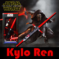 Kylo Ren Cosplay Weapon Star Wars 7 Lightsaber Toy Scalable 105 CM The Force Awakeness bb8 Telescopic Laser Sword Action figure