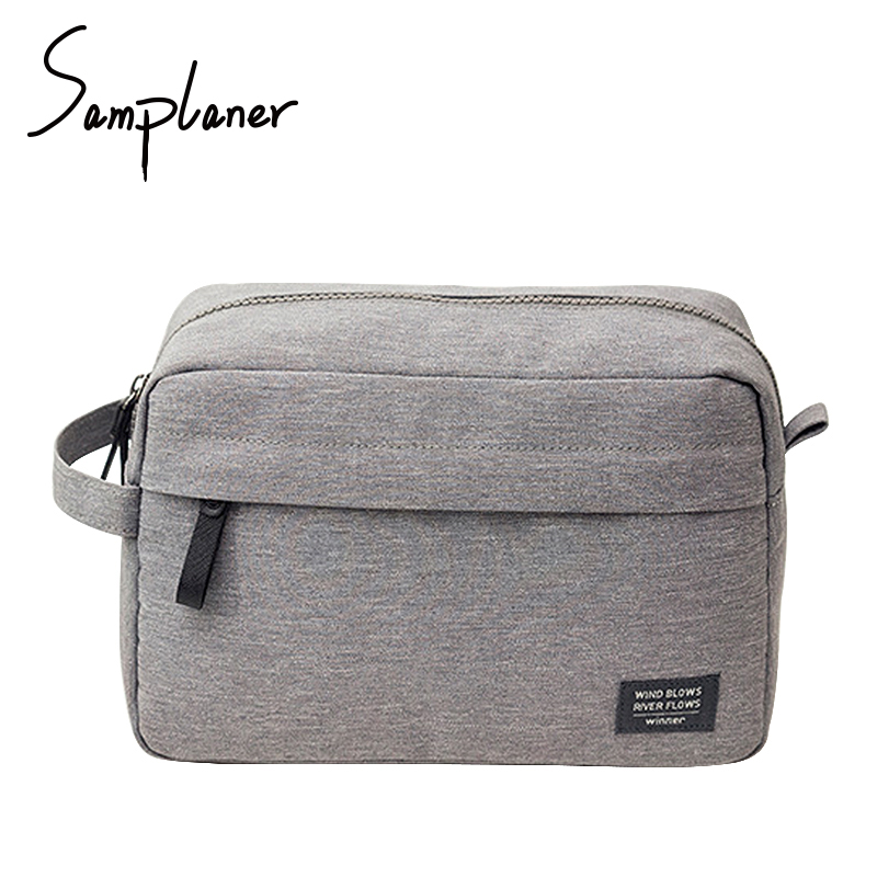 Women Men Travel Wash Bags For Make-up Pouch Cosmetic Bag Brand Toiletry Kits Necessaries Storage For Travels Make Up Organizer