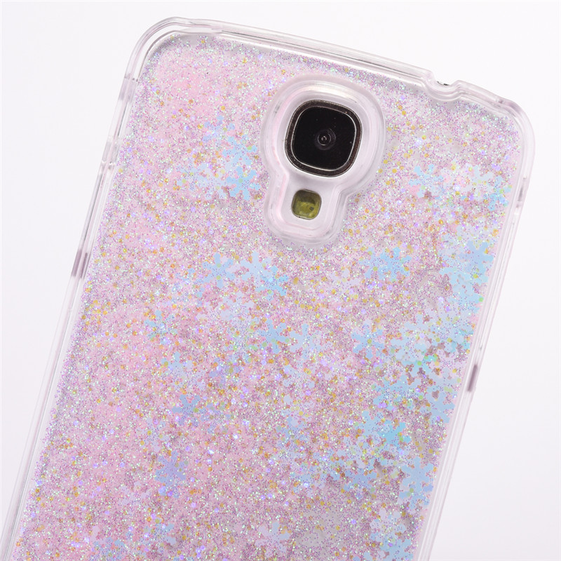 Snowflake Clear Samsung Galaxy S4 Case 13