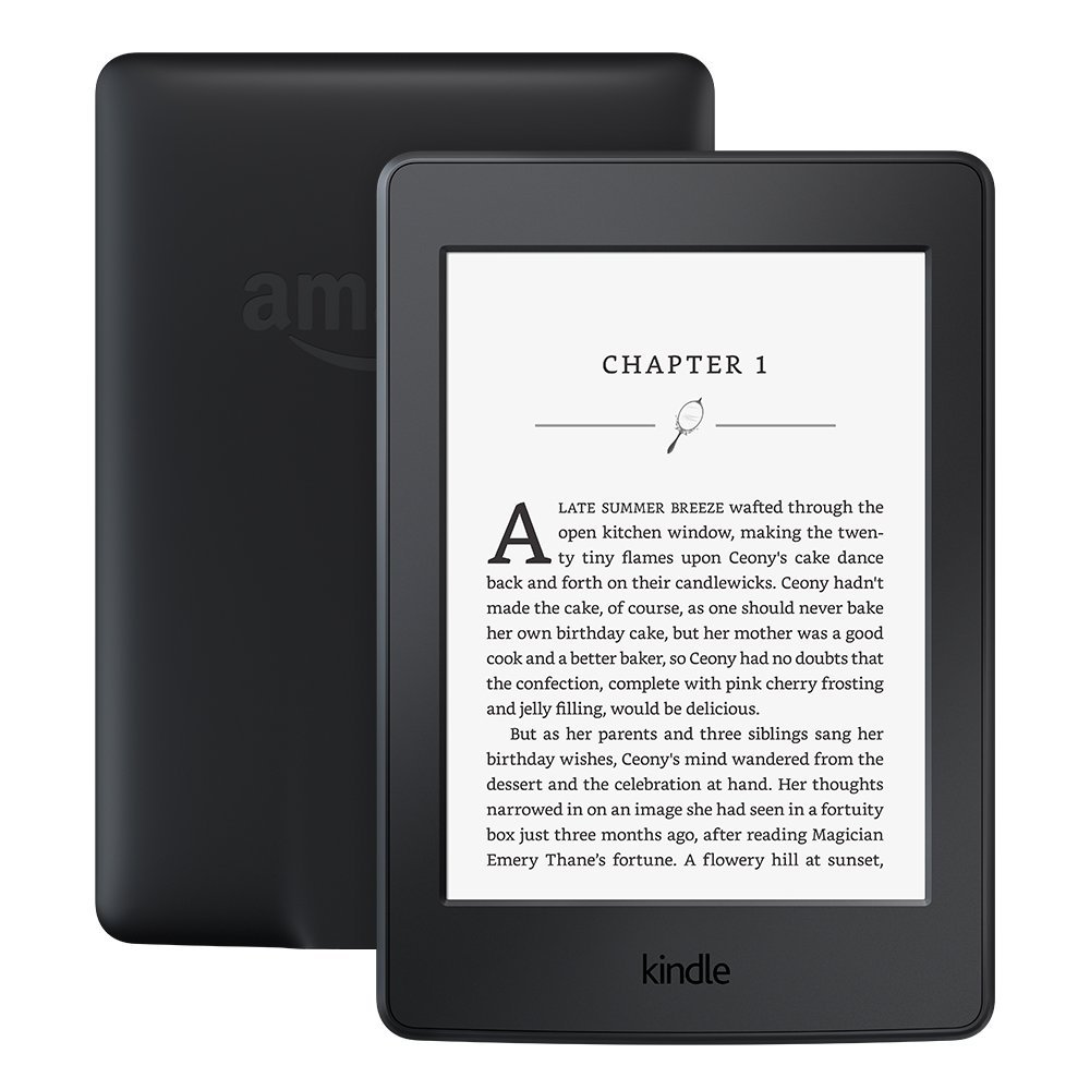 "Kindle Paperwhite 3nd Generation Black 4GB eBook e-ink Screen WIFI 6""LIGHT Wireless Reader With built-in backlight e-Book Reader"