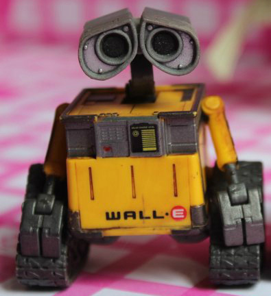 Wall-e Robot Wall E & Eve Pvc Action Figure Collection Model Toys Dolls 6cm #3