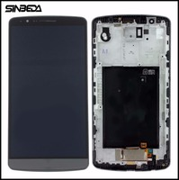 Sinbeda High Quality For LG G3 D850 D851 D855 VS985 LS990 LCD Display Frame And Touch