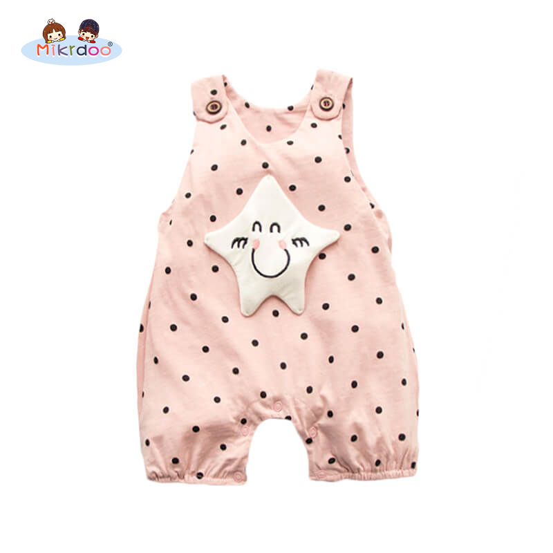 Baby Girl Clothes Autumn Newborn Baby Girl Boy Cotton Long Sleeve stars Printed Romper Jumpsuit Baby Romper Baby Clothing 2017 autumn newborn baby girl clothes long sleeve cotton romper bodysuit tops pant headband outfit 4pcs children clothing set