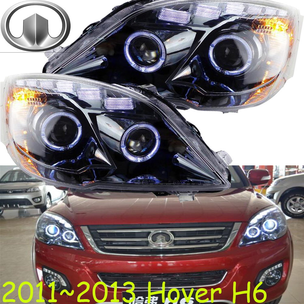 Hover H6 headlight,2009~2013,H6,Fit for LHD,,Free ship! Hover H6 fog light,H2 H3 H5 H9,M2 M4; Hover H6 mitsubish grandis headlight 2008 fit for lhd