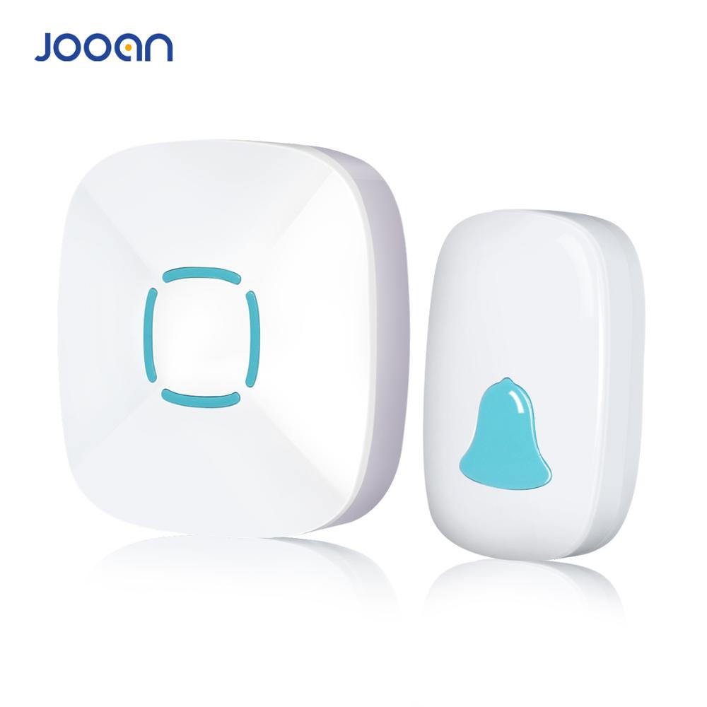 JOOAN Wireless Doorbell Premium Portable Plug-in Type Waterproof  Kit With 36 Chimes Cordless Smart Door Bells
