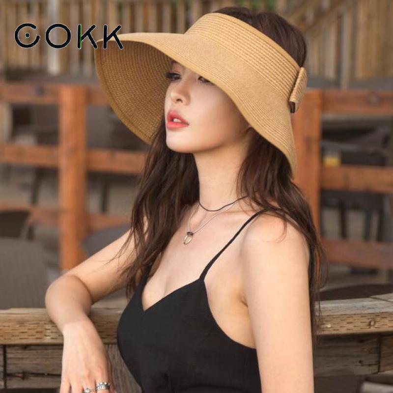 cokk-flambant-neuf-printemps-ete-visieres-casquette-pliable-large-large-bord-soleil-chapeau-plage-chapeaux-pour-femmes-chapeau-de-paille-en-gros-chapeau