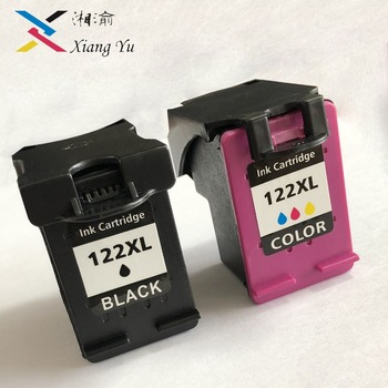 122XL Refilled Ink Cartridge Replacement for HP 122 Deskjet 1000 1050 2000 2050s 3000 3050A 3052A 3054 1010 1510 2540