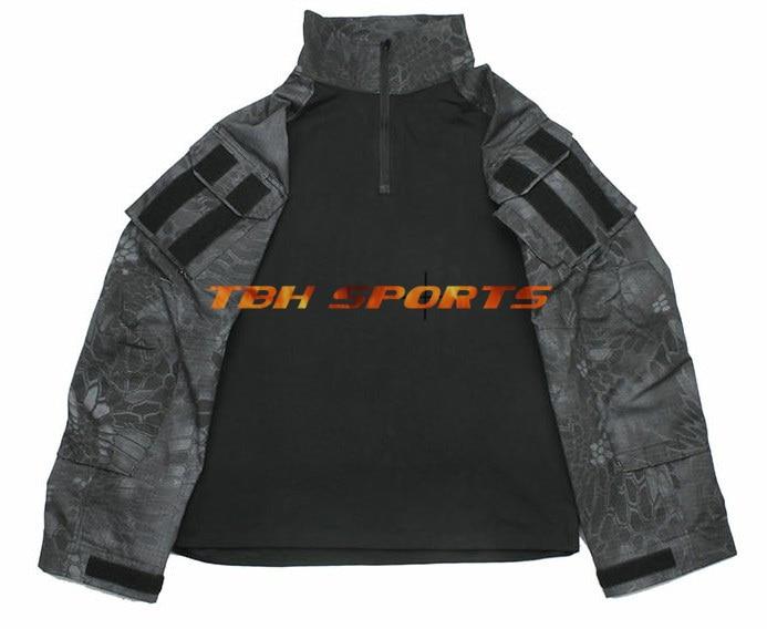 TMC G3 Combat Shirt Kryptek Typhon Fabrics Combat men Shirt+Free shipping(SKU12050264) 2015 new kryptek typhon pilot fast helmet airsoft mh adjustable abs helmet ph0601 typhon