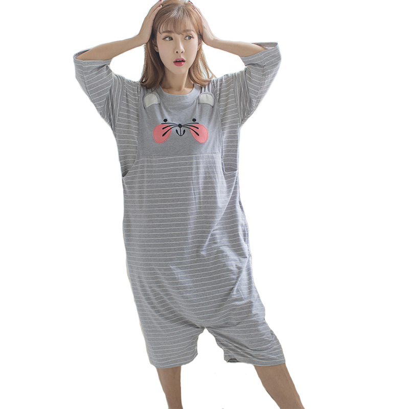 Soft Fabric Pajama For Pregnant Women Cotton Maternity Nightwear Multiple wearing Clothes Pregnancy Sleepwear Clothing B0447 maternity pajama hot robes autumn winter pregnant woman unisex home coral fleece pajama comfortable solid pockets women bathrobe