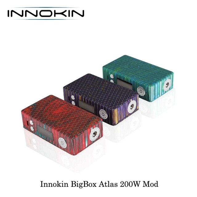 , Electronic Cigarettes Innokin BigBox Atlas 200W TC Resin Box MOD Powered By Dual 18650 Battery Vape Vaporizer VS VOOPOO VMATE