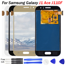 j1 ace lcd For Samsung J1 Ace display Galaxy J110 screen SM-J110F LCD J110H J110FM LCD Display Touch Screen Tela Digitizer Parts
