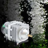 Compresseur d'air électromagnétique d'aquarium 220 v 40L/min 25 W pompe à Air d'aquarium augmentant la pompe à oxygène HAILEA ACO 208 pour