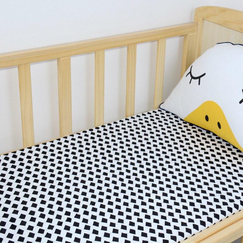 1Pcs Baby Bed Sheets 100% Cotton Cute Flamingo Crib Sheets Soft ...