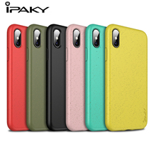 IPAKY Original Silicon Case For iPhone 7 8 Plus Apple Iphone 7plus 8plus X XS Max XR Cover Candy Color Coque