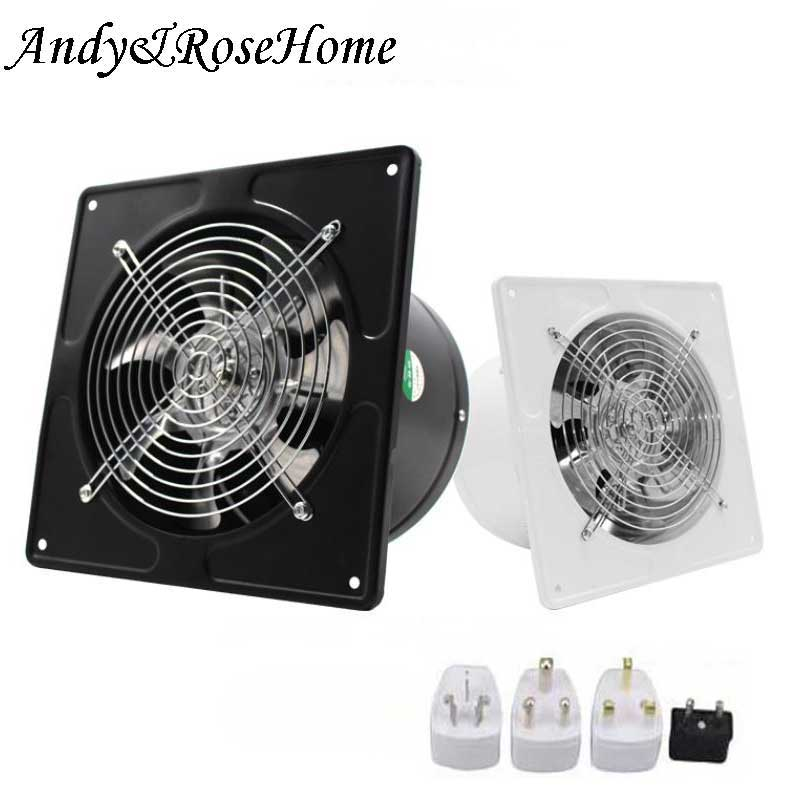 25-40W Ventilator 220V 5-8 inch Exhaust Fan Wall Mounted Ventilador Home Bathroom Kitchen Air Vent Ventilation image