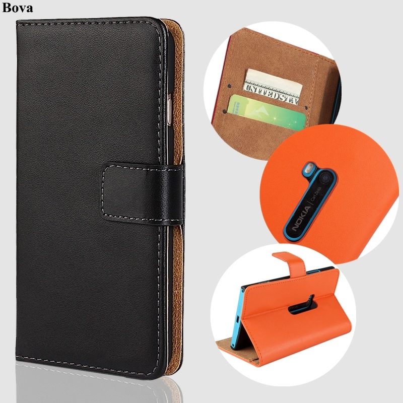 For Microsoft Lumia 920 cover case Premium PU Leather Wallet Flip Case for Nokia Lumia 920 with Card Slots and Cash Holder GG image