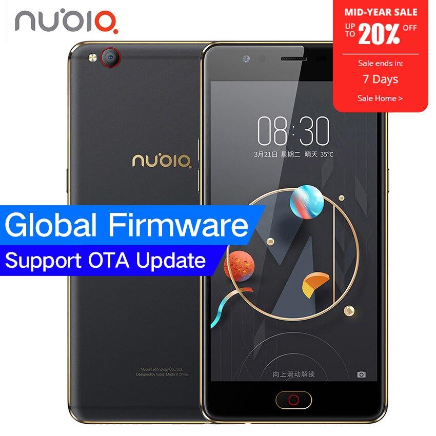 Original ZTE Nubia M2 LITE 4g LTE MT6750 Octa Core Android M 5,5