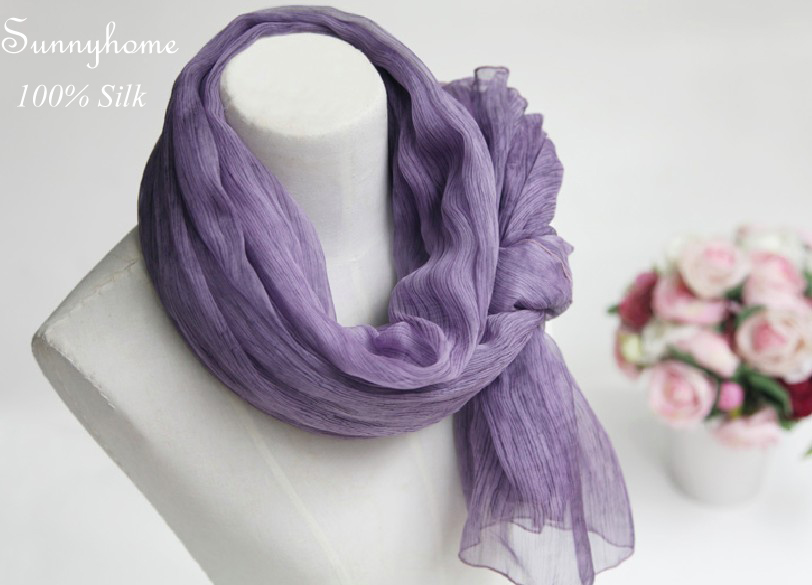 Kids Long Baby Summer Scarf Sjaals Dames Zomer 2016 100% Pure Silk womens scarfs fashionable Pashmina Foulard Viscose Shawl