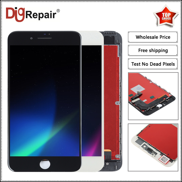 lowest price ac187 e0d08 Aliexpress.com : Buy 10PC/LOT 5.5 inch For iPhone 7 plus lcd Display Touch  Screen Digitizer Full Assembly Replacement Parts for iPhone 7 plus display  ...