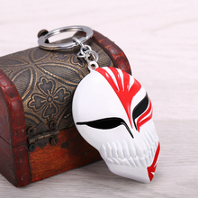 Anime Bleach Mask Logo Alloy Metal Key Rings
