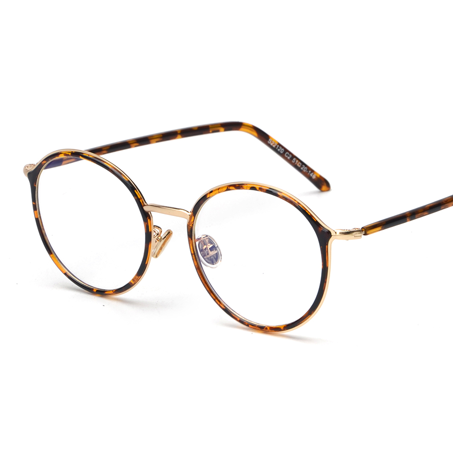 Korean Ultralight Eyewear Fashion Eye Frame Casual Gold Frame ...