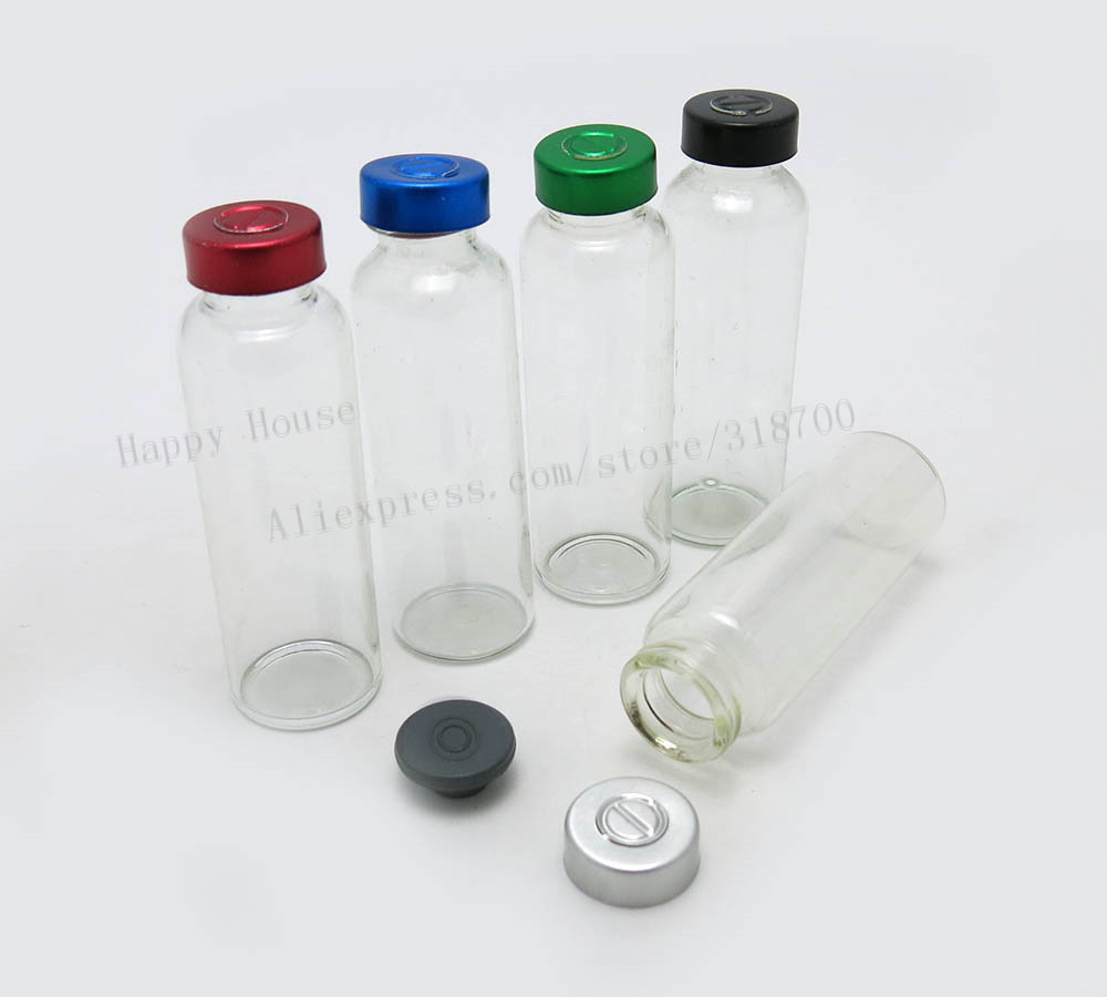 Clear Injection Glass Vial
