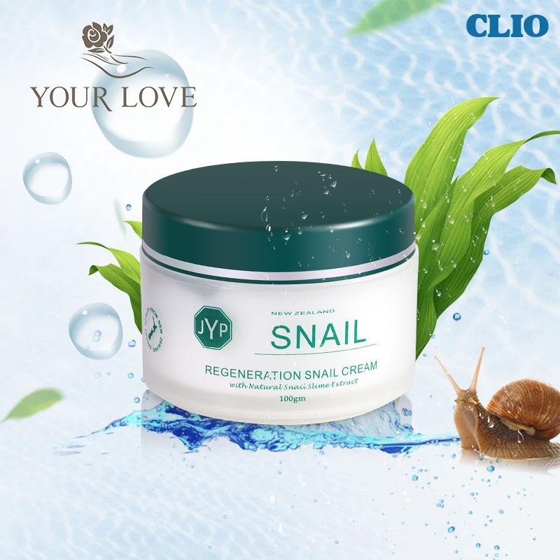 100% Original NewZealand JYP Skin Regeneration Snail Cream Collagen face cream Moisturizing Whitening Face Anti Wrinkle Cream