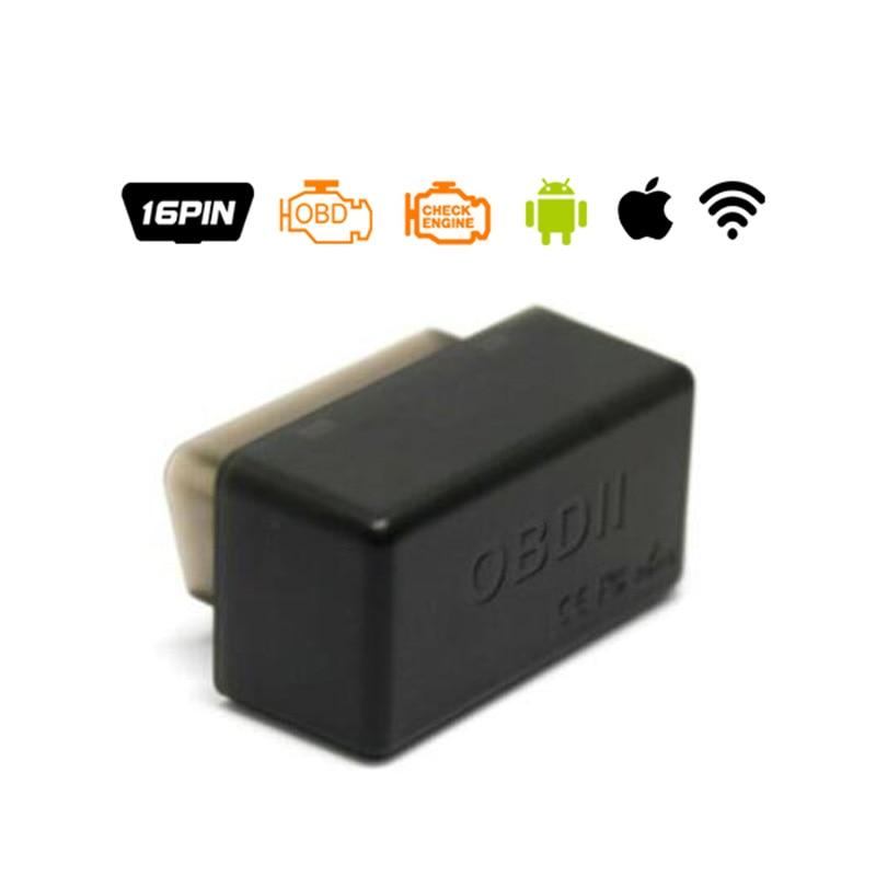 Pic18f25k80 ELM327 V1.5 Wi-Fi Bluetooth Obd2 OBD 2 1.5 диагностики авто код сканер как EasyDiag диагностики авто сканер ELM 327 - Цвет: wifi black