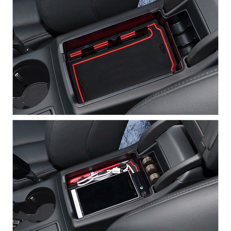 SMABEE Para AUDI Q5 Q3 2009to2017 Reposabrazos Caja de - Accesorios de interior de coche - foto 5