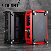 Original Smoant RABOX Mini MOD Built-in 3300mAh Battery Max 120W Output with 7 Kinds Shining LED Lont Time Vaping E-cig Vape Mod