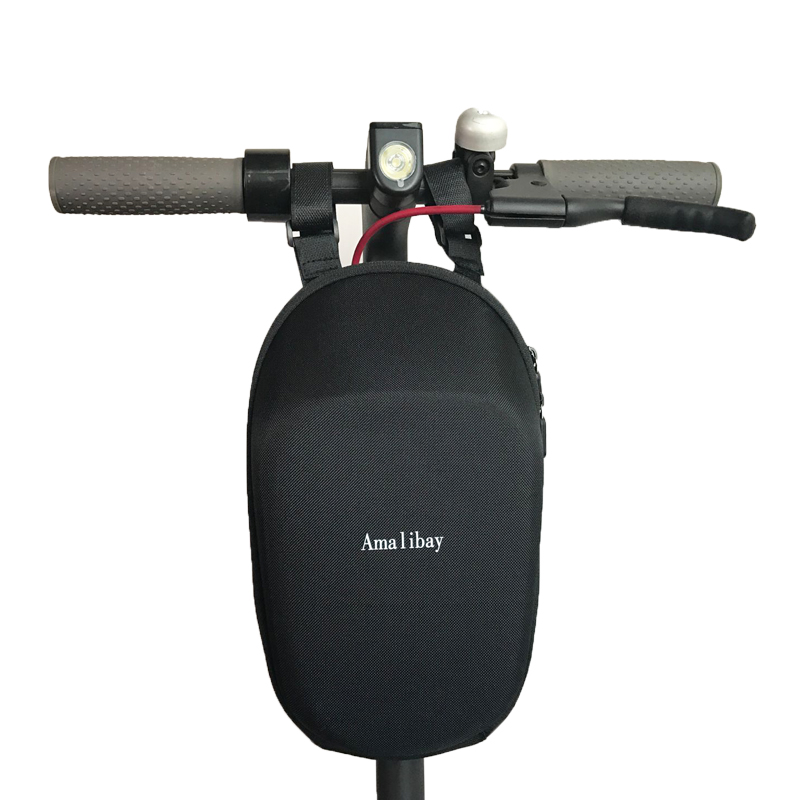 Upgraded Scooter Head Handle Bag Life Waterproof for Xiaomi Mijia M365 Electric Scooter Ninebot ES1 ES2 Es4 Dualtron Qicycle adjustable scooter handle handrail hand control for xiaomi ninebot