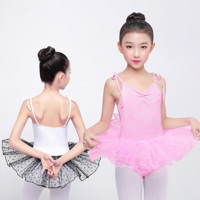 f97862525073 Children Professional Ballet Tutu Skirt Sleeveless Strap Ballet ...