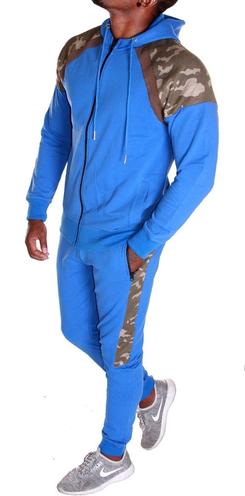 Zogaa Hot Sale 2019 Tracksuit Men Casual Long Sleeve Sweatsuit Men Patchwork 2 Piece Of Sets Jogger Suits For Men