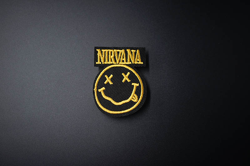 DIY Iron On Patch Embroidered Cute Badges Hippie Iron On Kids Cartoon Patches For Clothes Stickers Badge