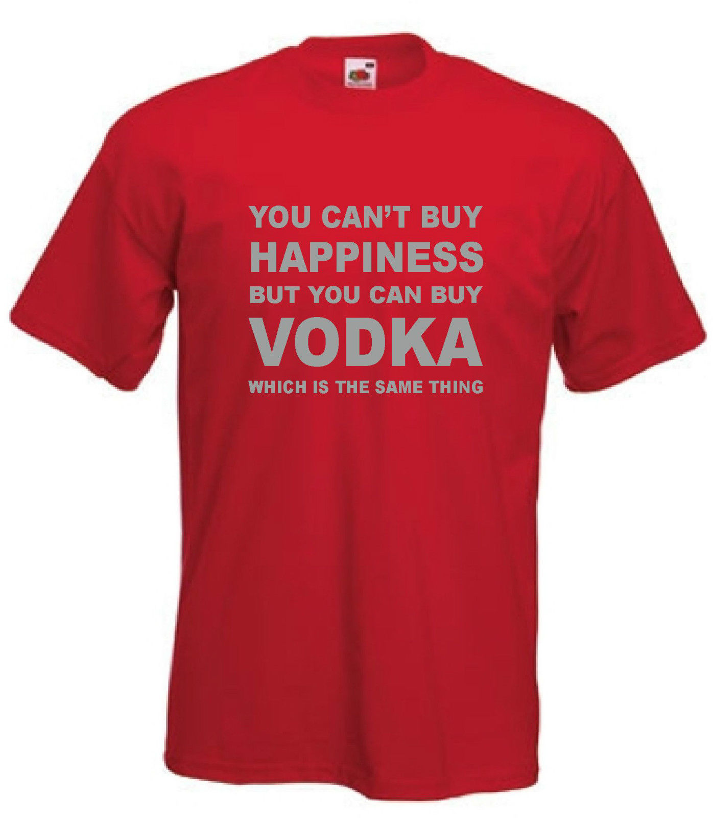 Vodka T Shirt Funny Alcohol TShirt Drinking T Shirt Drunk Sizes S XXXL in T Shirts from Men 39 s Clothing