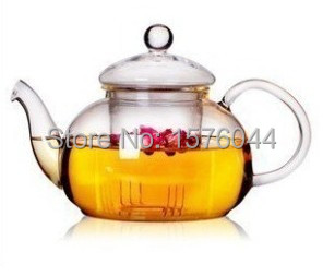 1PC 400ml,600ml,800ml,1000ml hot selling high quality heat-resistant glass teapot special sale coffee pot G0125