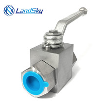 2 way ball valve high pressure hydraulic check valve stainless steel ball valve handles G3/8 connector famale G3/8  ford eoaz 7e195 b ball check valve