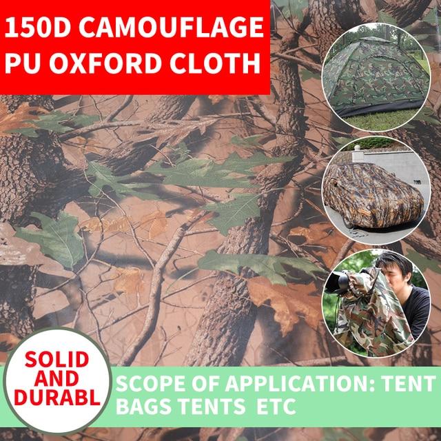 Breed 150 cm Oxford doek camouflage gedrukt PU bos printing ...