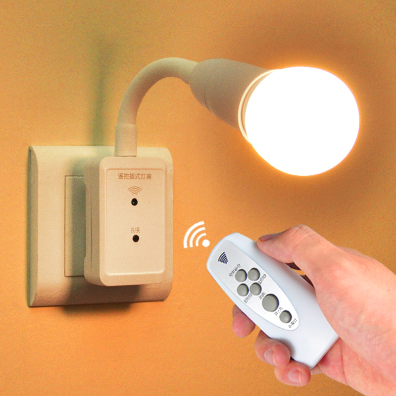 5m Remote Control Mini Led Sleep Lamp For Baby Child Energy Saving Bedside Smart Wall Sleep Light Security & Protection