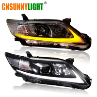CNSUNNYLIGHT For Toyota Camry V40 2009/2010/2011 Car Headlights Assembly W/ LED DRL Turn Signal Lights Plug & Play Head Lights
