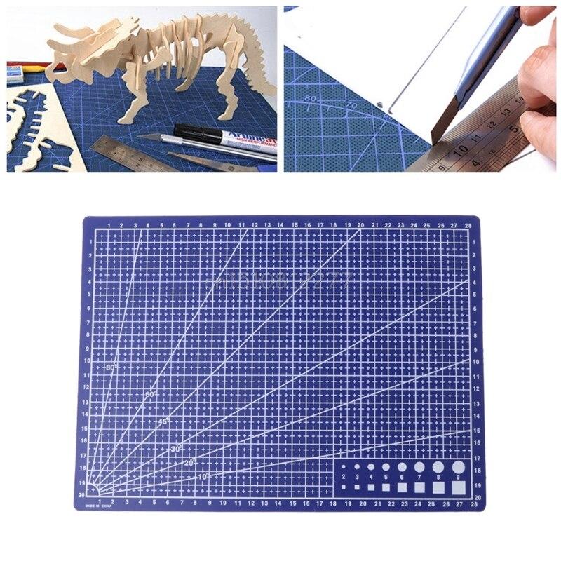 Painting supplies Art mat A4 Professional One Sided Cutting Mat Self Healing Non Slip Board Pad Tool J26 19 dropship