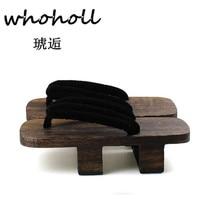 كعب المتأرجح الرجال بولونيا أنثى النعال منصة الصنادل قباقيب خشبية جيتا الياباني تأثيري أحذية MGT-434