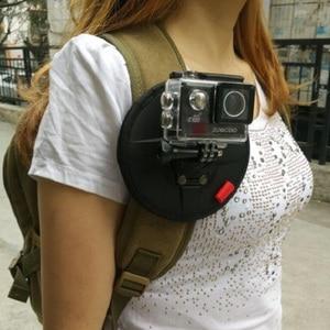 Автомобильный Магнитный рюкзак с ремнем для Gopro Hero 8 7 6 5 SJ4000 sj6/8/9 Xiaomi Yi 4K H9R Экшн-камера