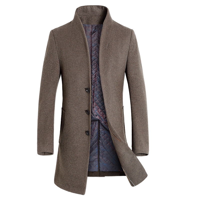 Long Winter Wool Coat