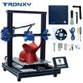 Новый модернизированный 3d принтер Tronxy XY-2 Pro, быстрая сборка, автоматическое выравнивание, непрерывная печать, датчик накаливания, 3,5