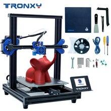 Новый модернизированный Tronxy XY-2 Pro быстромонтируемый 3d принтер автоматическое выравнивание печать силовой датчик накаливания 3,5 »сенсорный экран